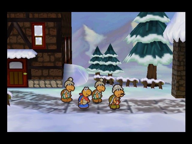 Paper Mario - Cut-Scene  - Operation Crystal Palace - User Screenshot